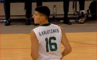 """Per """"Nevėžį"""" – į NBA: G.Kalaitzakis dalyvaus naujokų biržoje"""