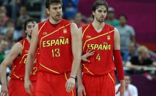 Ispanai nušlavė nuo savo kelio Senegalo krepšininkus