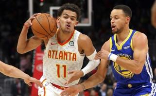 S.Baylessas: T.Youngui niekada nepavyks ir per penkias mylias priartėti prie S.Curry