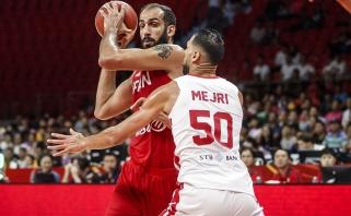 S.Mejri vedamas Tunisas įveikė Irano rinktinę