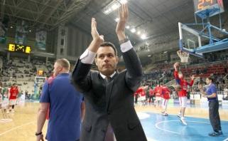 """CSKA strategas Itoudis: nesakau """"ne"""" NBA lygai"""