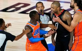 NBA nubaudė susipešusius D.Schroderį ir P.J.Tuckerį