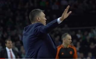 """Š.Jasikevičius įvardijo, kas labiausiai neramina prieš mūšį su """"Crvena Zvezda"""" (komentarai)"""