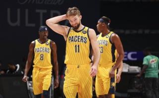NBA žvaigždės vardo vertas Sabonio pasirodymas nublanko prieš istorinį Westbrooko trigubą dublį