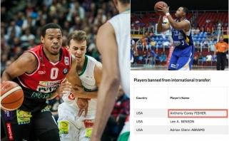 """Lietuvos ryto"" gretose - ""nelegalas"", mįslingai apėjęs FIBA sankcijas"