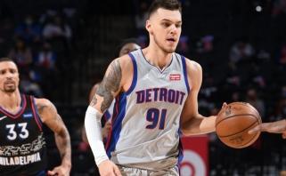 Nustebinęs Sirvydis suspurdėjo NBA – šaudė tritaškius, graibstė kamuolius ir žadino komandą