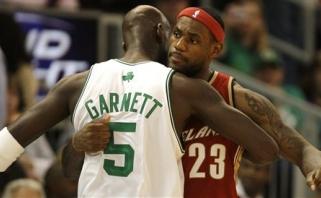 L.Jamesas rezultatyviausių visų laikų NBA žaidėjų sąraše aplenkė K.Garnettą