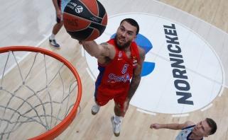 CSKA žvaigždė M.Jamesas lieka komandoje (Vatutino ir žaidėjo komentarai)