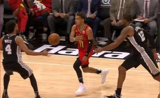 NBA Top 5 - įspūdingi dėjimai bei juvelyrinis T.Youngo perdavimas