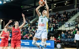 Lietuvos rinktinė Europos čempionato atrankoje patyrė pirmą nesėkmę