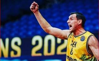 Mačiulis į AEK nebegrįš: klubas dėkoja lietuviui už Atėnuose praleistus metus