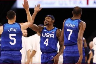 Pagaliau draugiškame turnyre laimėjo ir JAV rinktinė, australai žiauriai triuškino varžovus