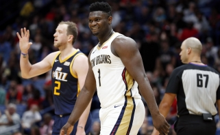 """""""Pelicans"""" – priešpaskutiniai lygoje ginantis su Williamsonu ir antri – be jo"""