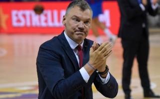Jasikevičius – laimingas: toks krepšinis, kokį žaidžiame šiuo etapu, labai geras