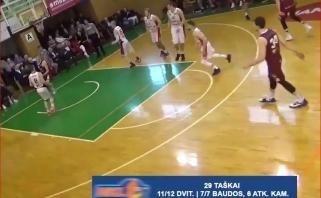 NKL ketvirtfinalio starto apžvalga, MVP - nenuilstantis Š.Beniušis