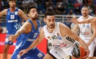 """Pirmoji """"Panathinaikos"""" pergalė Graikijos pirmenybėse (debiutavo 15-metis)"""