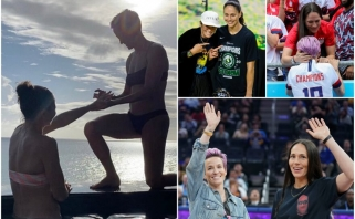 Netradicinė Amerikos superkomanda: susituoks moterų krepšinio ir futbolo rinktinių žvaigždės