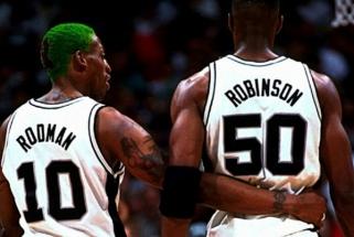 """Spurs"" legenda D.Robinsonas: Rodmanas mūsų komandai buvo destruktyvus"