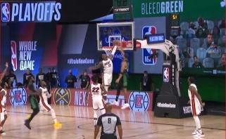 Murray'aus tritaškis ir Adebayo blokas - gražiausi NBA nakties momentai