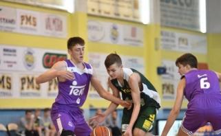 Lietuviai įveikė Bambergo krepšininkus ir tarptautiniame turnyre kausis dėl 5-os vietos