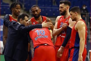 CSKA neturėjo vargo atkrintamųjų starte
