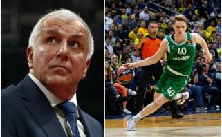 """Ž.Obradovičius giria savus už žaidimą iki paskutinės minutės, turkai rašo apie """"Fenerbahče"""" košmarą"""