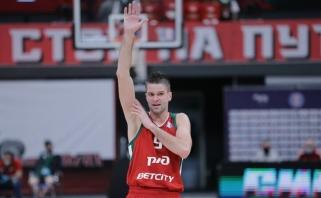 Sėkmingai žaidusiam Kalniečiui – įvertinimas Europos taurėje