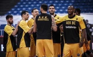 Čempionų lygos sezoną AEK su Mačiuliu baigė trinktelėdami durimis