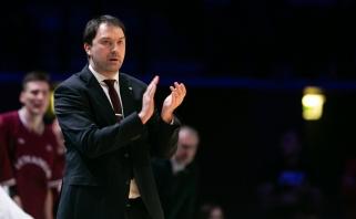 """Europos taurėje siekiantis žaisti """"Lietkabelis"""" pratęsė sutartį su vyr. treneriu"""