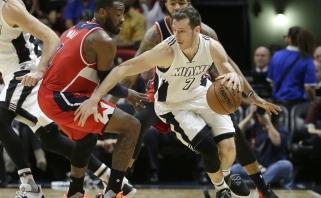 """NBA: G.Dragičiaus benefisas ir sunki """"Rockets"""" pergalė (rezultatai)"""