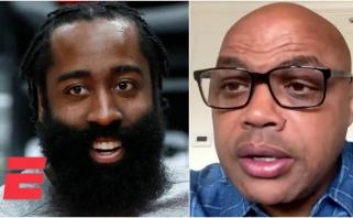 Barkley: su visa pagarba LeBronui ir Gianniui, geriausias krepšininkas – Hardenas