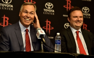 """""""Rockets"""" strategas paaiškino, kodėl žaidžia žemiausia sudėtimi NBA lygoje"""