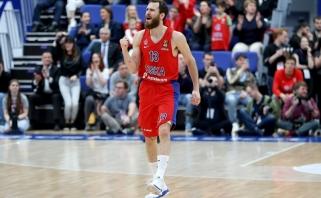 S.Rodriguezo benefisas dar kartą už ausų ištempė CSKA