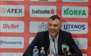 Š.Jasikevičius paaiškino, kodėl komandos draugai atsisakė R.Jokubaičio sušių