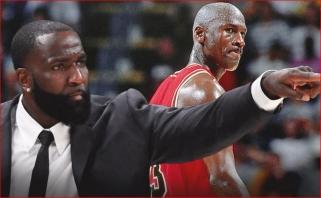 """K.Perkinsas: """"Paskutinis šokis"""" išaukštino Jordaną sumenkinant kitų žaidėjų reputacijas"""