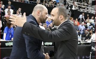 ASVEL trenerį laikinai pakeis T.Parkerio brolis