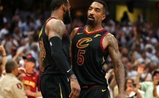 """Etatinis LeBrono ginklanešys užbaigs sezoną """"Lakers"""" gretose"""