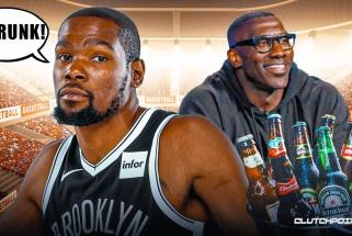 """""""Dėde, tu girtas"""" – Durantas ekspertui dėl neva jo citatos apie LeBroną"""