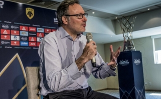 Čempionų lygos vadovas patvirtino, kad Vilniuje gali vykti turnyro finalo ketvertas (interviu)