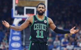 """K.Irvingas pasiekė žodinį susitarimą su """"Nets"""""""