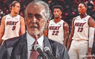 """""""Heat"""" prezidentas P.Riley: Majamis pasirengęs pristatyti čempionišką komandą"""