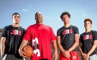 """LaVaras Ballas: visi trys mano sūnūs žais """"Lakers"""""""