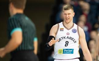 """Šį sezoną nebegalėsiantis žaisti """"Lietkabelio"""" puolėjas pavyzdį ims iš R.Kaukėno (interviu)"""