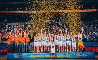 Ispanijos krepšininkės - Europos čempionės! (įspūdingo momento video)