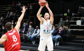 Olisevičius sužibėjo FIBA Europos taurėje