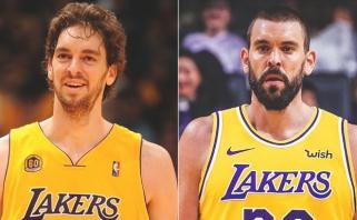 """M.Gasolis seka brolio pėdomis – keliasi į čempionais tapusius """"Lakers"""""""