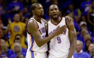 """Durantas kviečia Ibaką prisijungti prie """"Nets"""""""