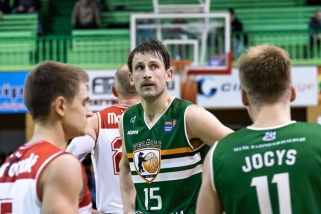 """""""Telšių"""" kapitonas apie pergalėmis nuklotą sezoną: turime išsiugdę charakterį"""