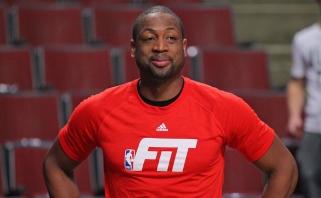 """D.Wade'as karjerą tęs Čikagoje, M.Dunleavy vyks į """"Cavs"""", J.Calderonas į """"Lakers"""""""
