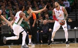 """Geriausias Eurolygos kovotojas dėl kamuolių oficialiai tapo """"Celtics"""" nariu"""
